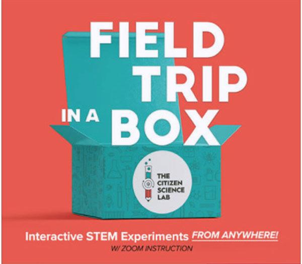 Citizen Science Lab Field Trips in a Box